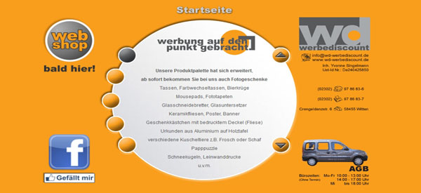 WD-Werbediscount